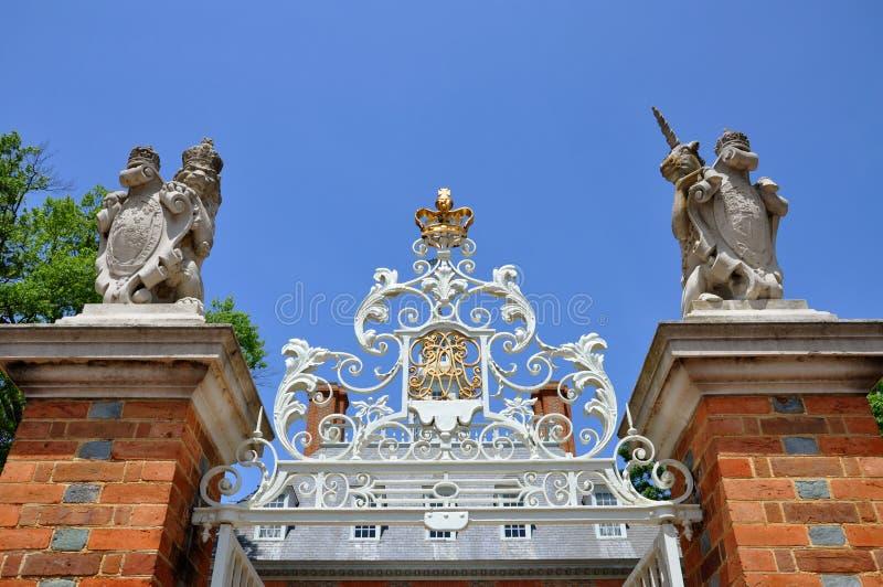 Regler Palast, Williamsburg stockbild