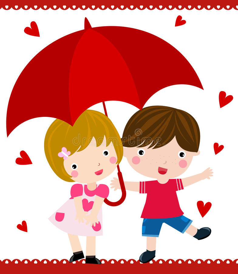 regn stock illustrationer