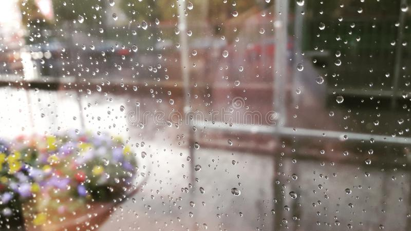 Regna tappar royaltyfria foton