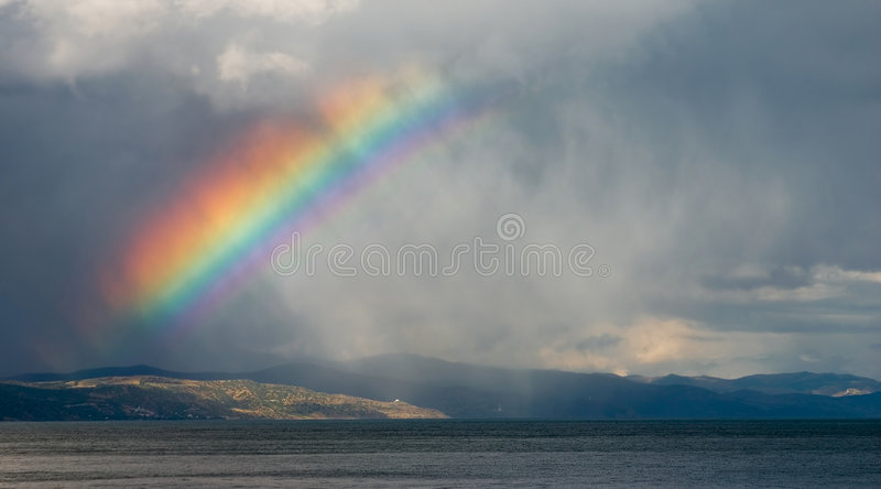 regnbåge royaltyfri fotografi