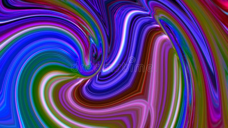 Regnbågen flyger geometri abstraktion bankade textur Bakgrund vektor illustrationer