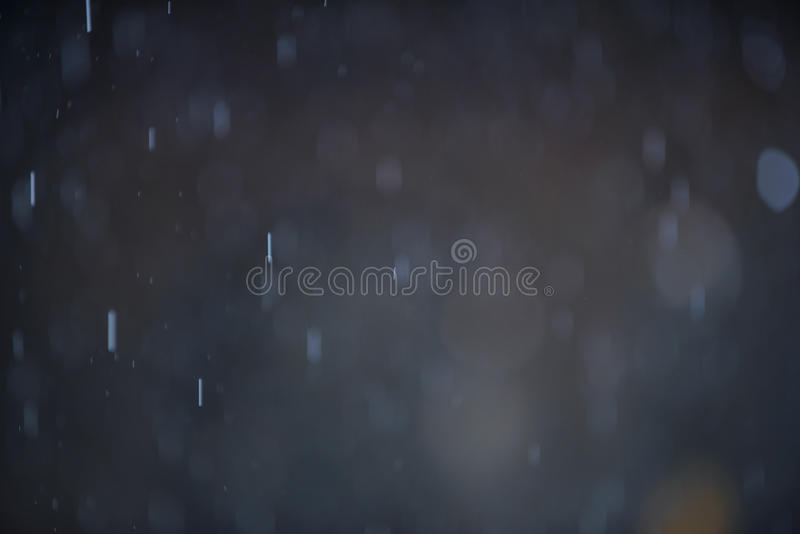 RegnBokeh bakgrund arkivbild