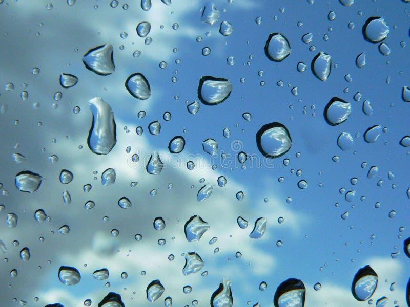 Regnen Sie Tropfen lizenzfreies stockbild
