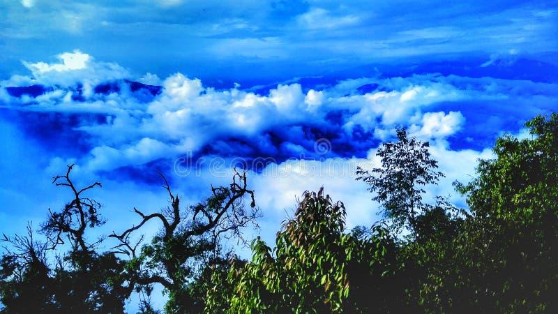 Regni della nuvola fotografia stock