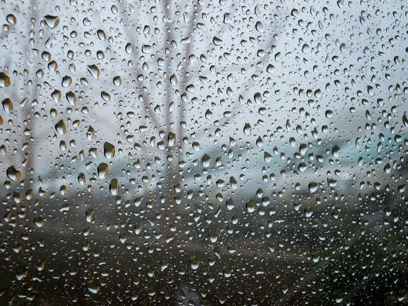 Regnig dag royaltyfri foto