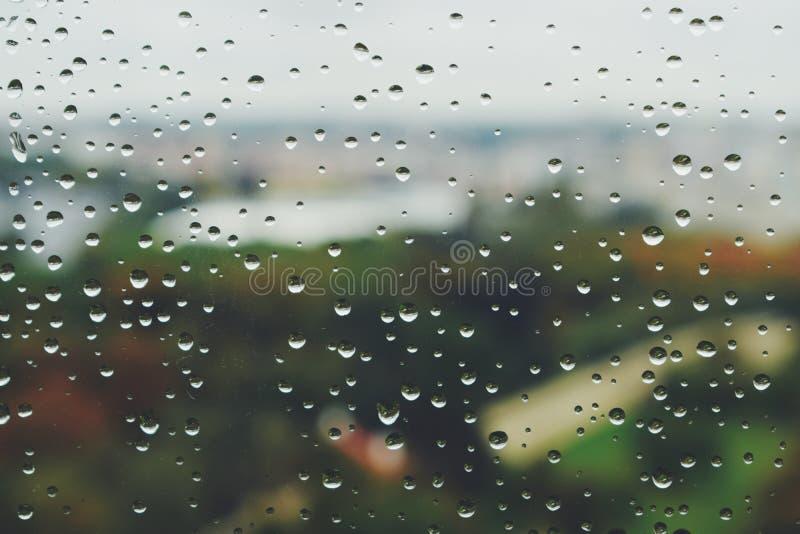 Regnig höst Prague 2017 Oktober arkivbilder