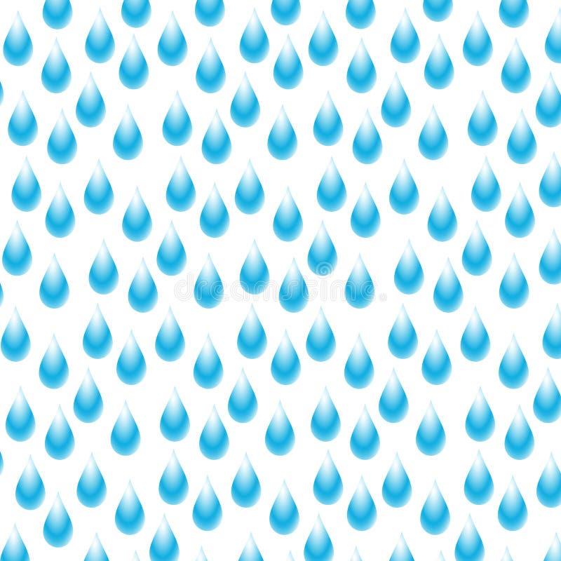 Regnigt vektor illustrationer