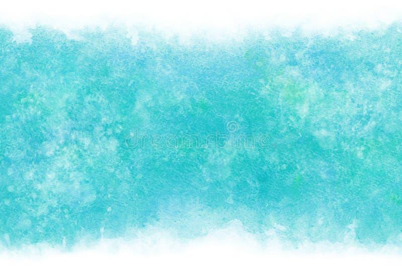 Regnigt bl?tt abstrakt begrepp f?r pastellf?rgad f?rg eller vattenf?rgm?larf?rgbakgrund stock illustrationer