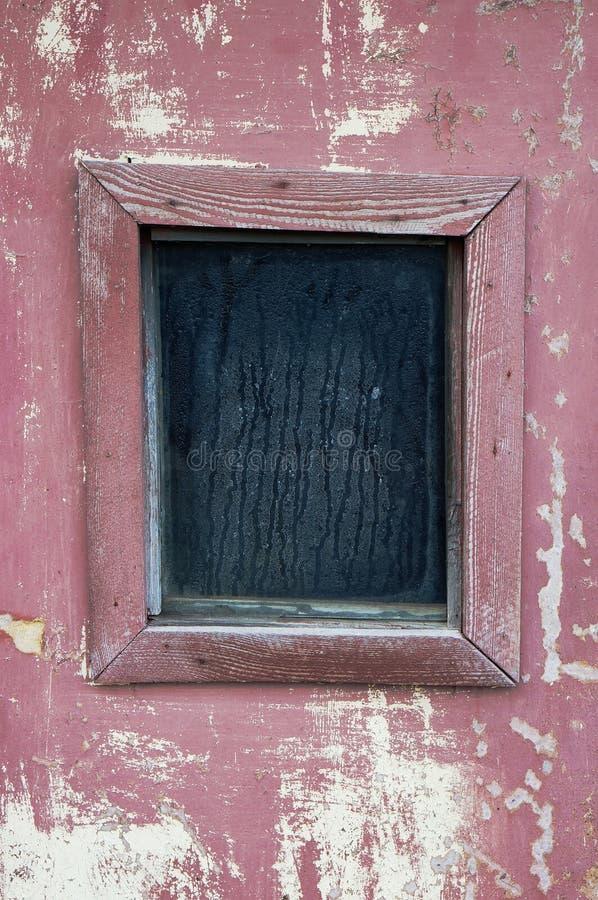 Regnigt torrt fönster royaltyfri foto
