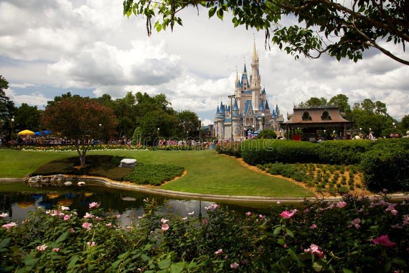 Regno magico a Orlando, Florida del castello della Cinderella fotografie stock