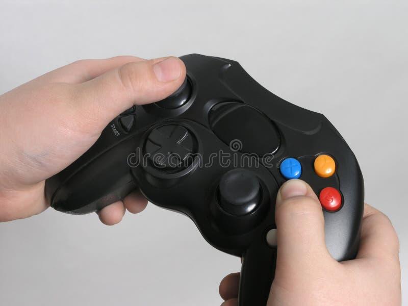 Regolatore 3 del video gioco fotografia stock libera da diritti