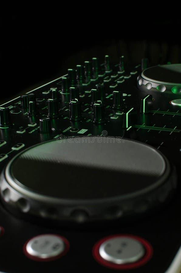 Regolatore del DJ immagini stock libere da diritti