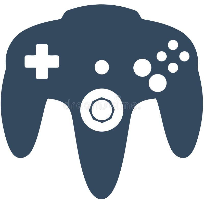 Regolatore del gioco N64 illustrazione di stock