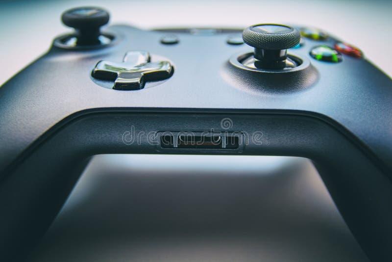 Regolatore del gioco - vista frontale immagine stock libera da diritti