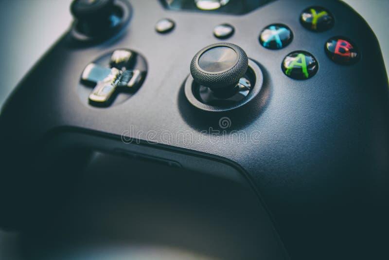 Regolatore del gioco - vista laterale immagine stock