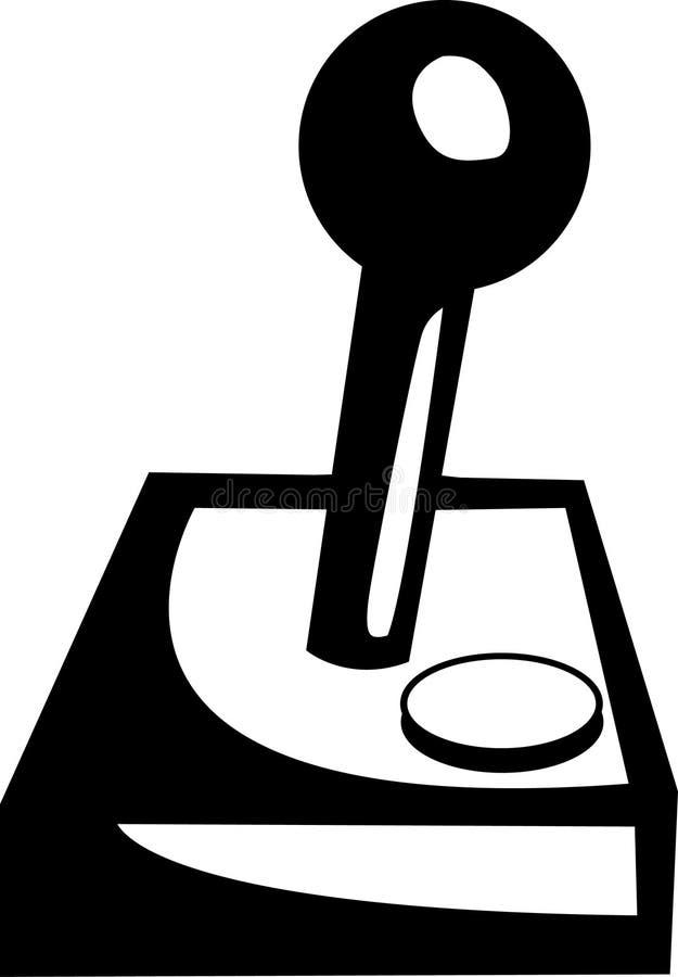 Regolatore del videogioco della barra di comando illustrazione vettoriale