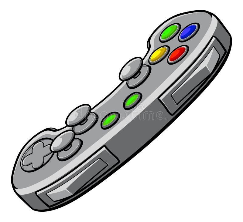 Regolatore di console dei video giochi royalty illustrazione gratis