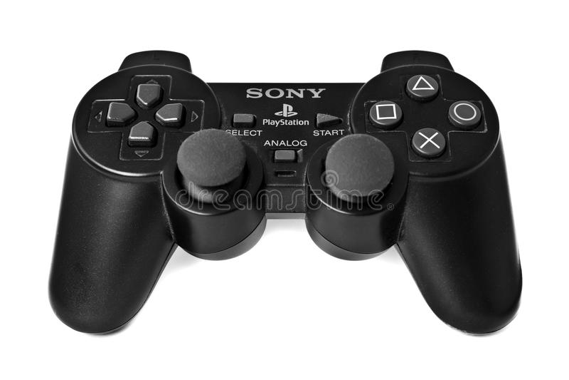 Regolatore di PlayStation fotografie stock libere da diritti