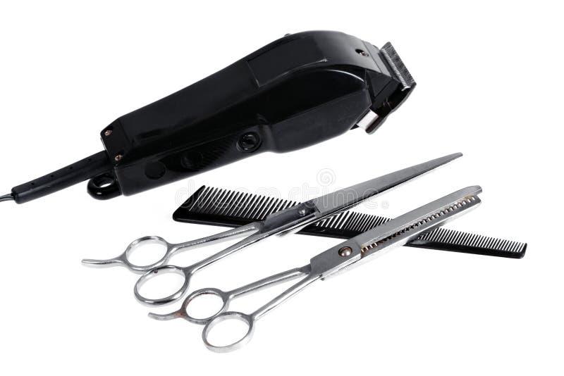 Regolatore rustico dei capelli fotografie stock libere da diritti
