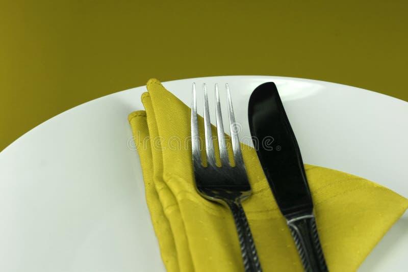 Regolazione della Tabella di cena immagini stock
