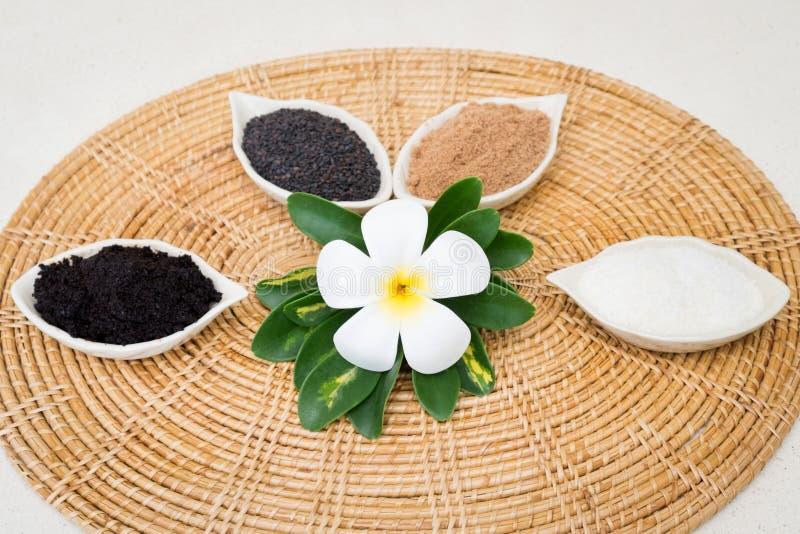 Regolazione di massaggio della stazione termale immagine stock libera da diritti