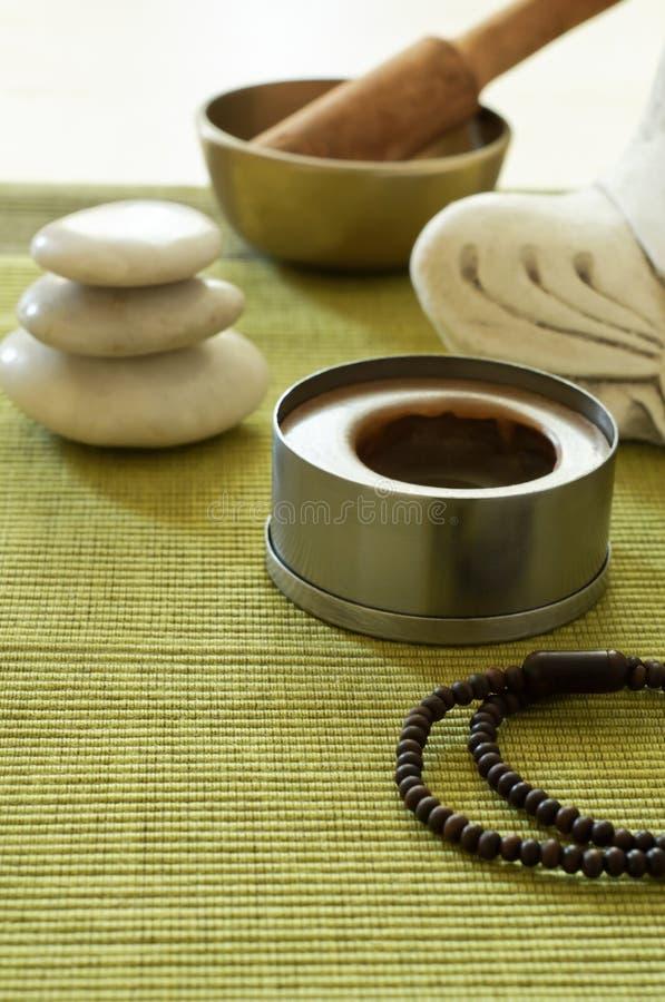 Regolazione di meditazione di Buddhism immagine stock