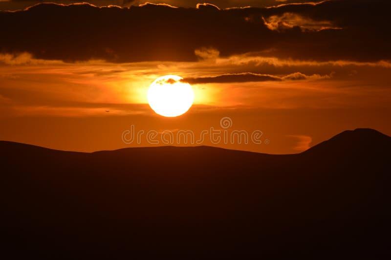 Regolazione Sun fotografia stock libera da diritti