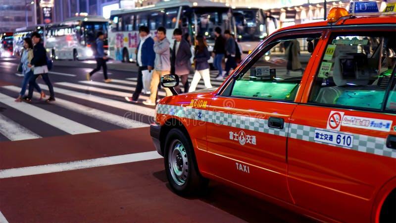 Regras e regulamento do tráfego em Japão imagem de stock royalty free