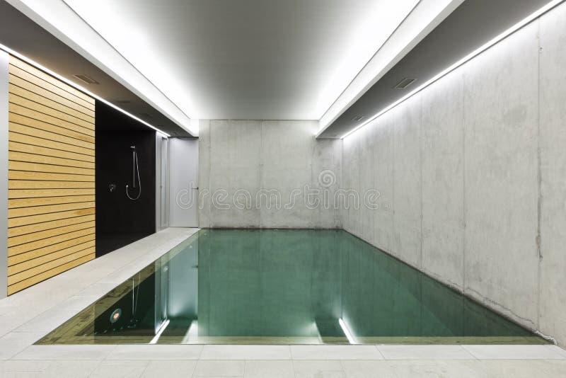 Regroupement d'intérieur avec le sauna photo libre de droits
