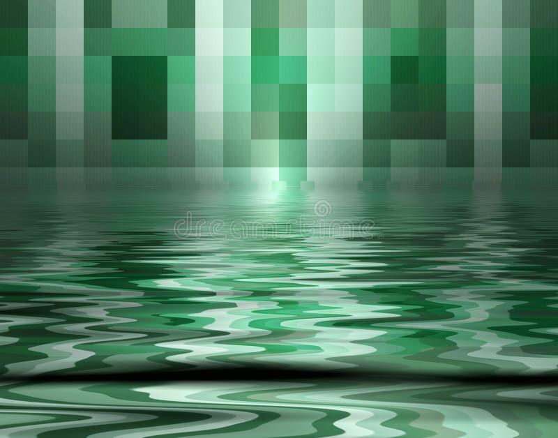 Regroupement des Pixel illustration de vecteur