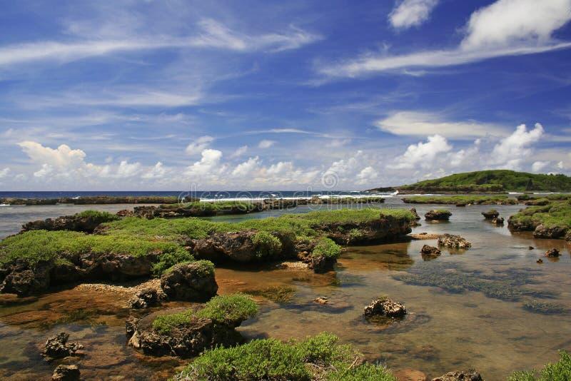 Regroupement Guam d'Inarajan images libres de droits