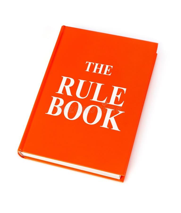 Reguły książka fotografia stock