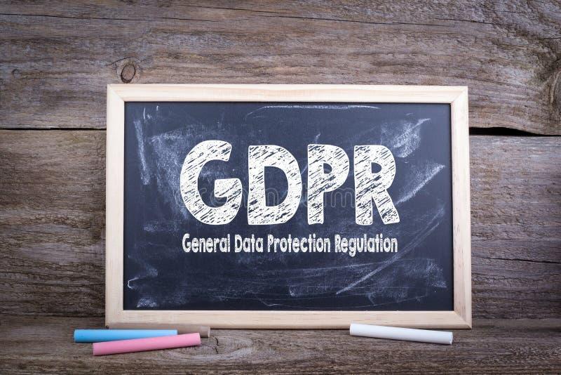 Regulación general de la protección de datos de GDPR imágenes de archivo libres de regalías
