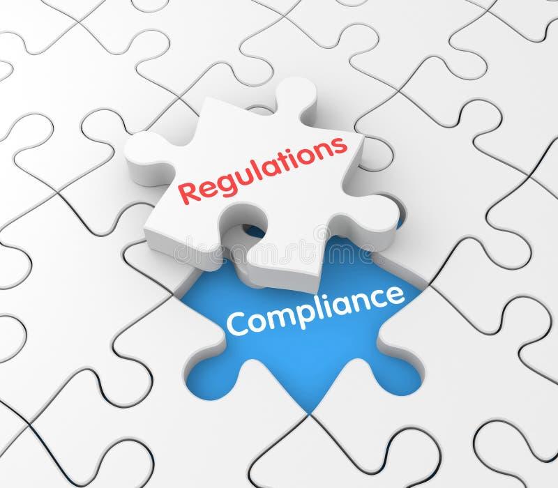 Regulaciones y conformidad libre illustration
