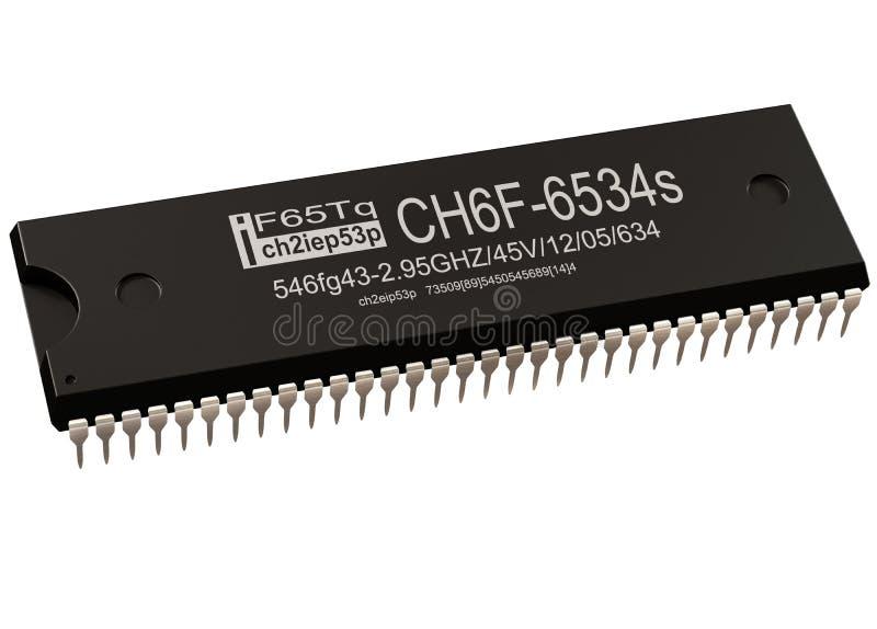 Regulador de las piezas del circuito integrado o del ordenador de las nuevas tecnologías del microprocesador foto de archivo libre de regalías