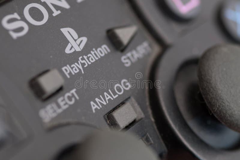 Regulador de Sony Playstation fotos de archivo libres de regalías