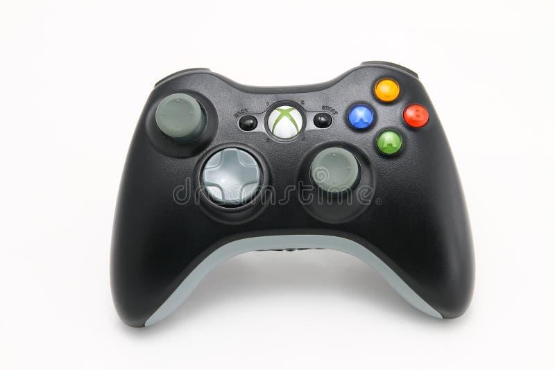 Regulador de Xbox imagen de archivo