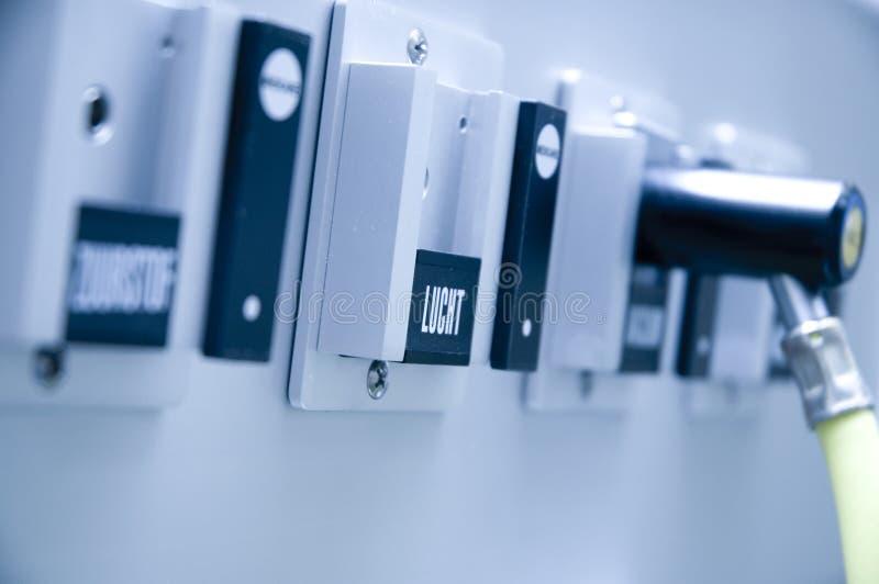Regulador do oxigênio fotografia de stock royalty free