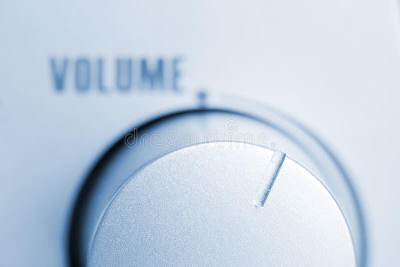 Regulador do volume foto de stock
