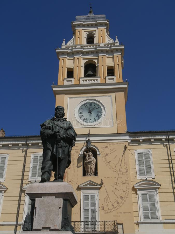 Regulador Palace em Parma foto de stock royalty free
