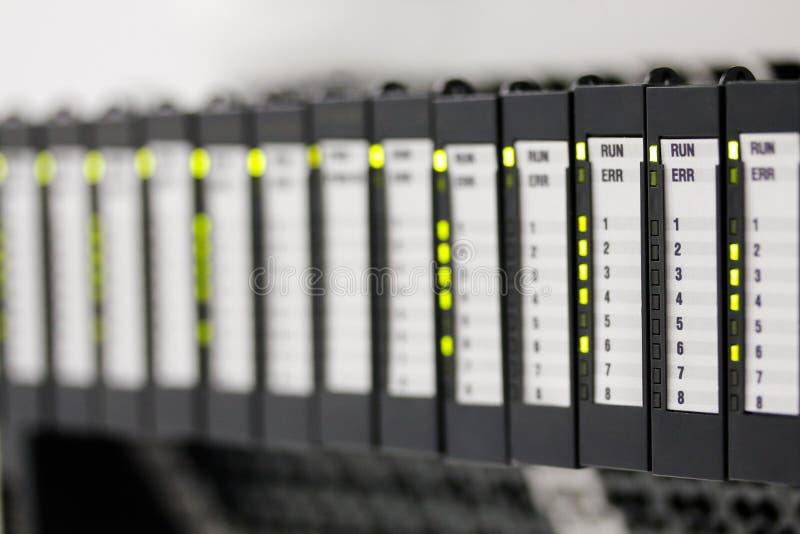 Reguladores programables de la lógica foto de archivo libre de regalías
