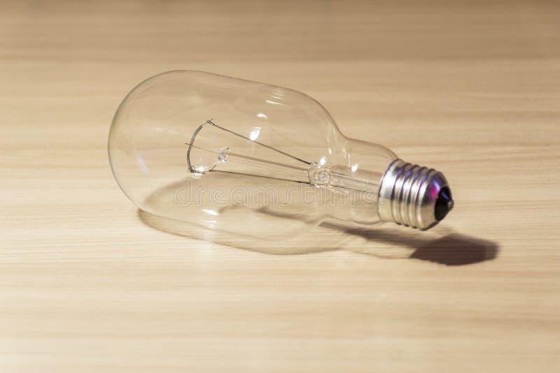 Regular incandescent lamp for three hundred watts. stock photos