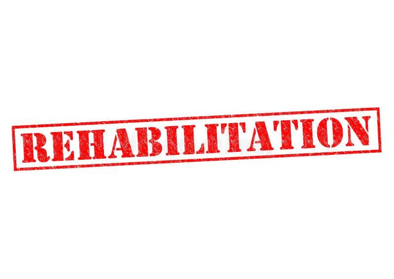 rehabilitacja ilustracja wektor