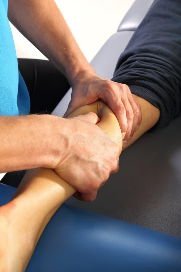 Rehabilitation, masage royalty free stock image