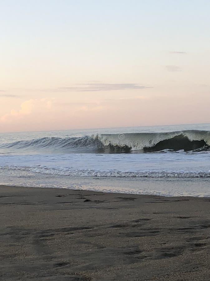 Rehoboth strand, DE arkivbild