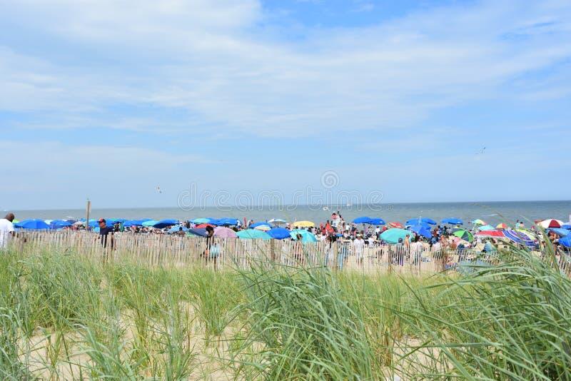 Rehoboth-Strand in Delaware stockbild