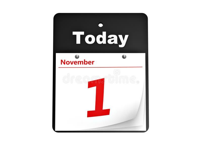 Reißen Sie Tageskalender Ab Stock Abbildung - Illustration von ...