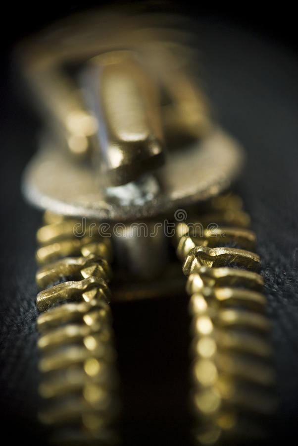 Reißverschluss stockbild