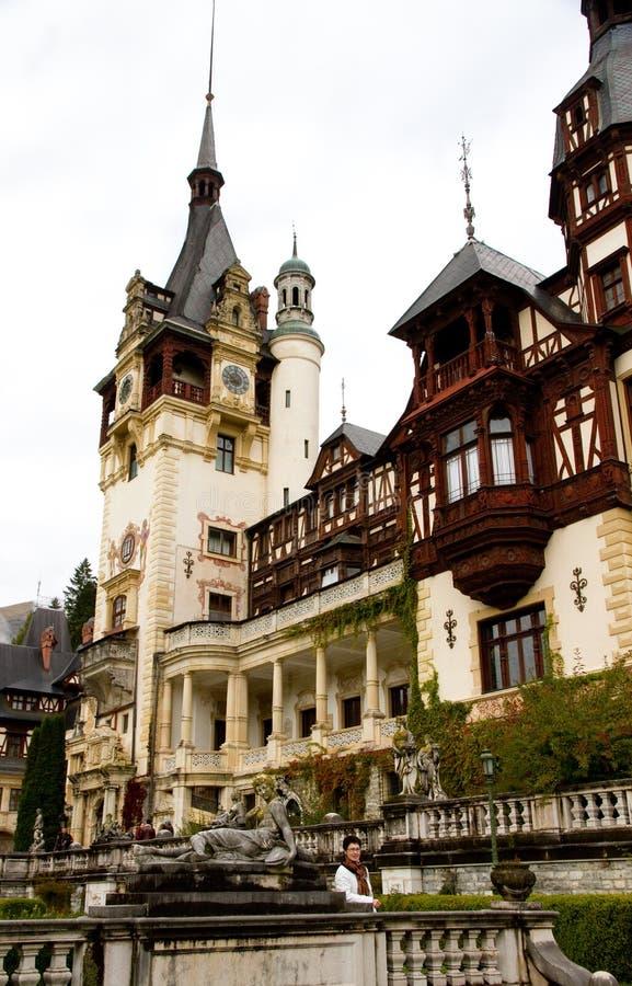 Rei Canção de natal Palácio de Romania foto de stock