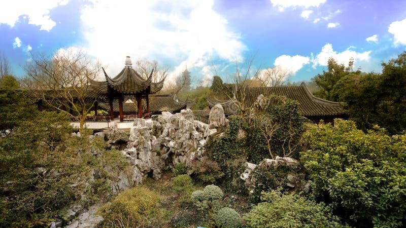 Rei chinês do jardim fotos de stock